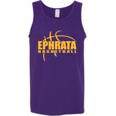 Purple Cotton Tank Top