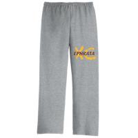 Sport Grey Open Bottom Sweatpants