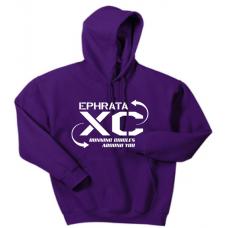 Purple Hooded Sweatshirt
