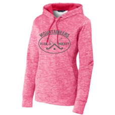 Pink Raspberry Ladies Posi Charge Electric Fleece Pullover