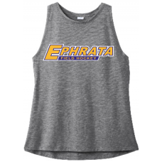 Grey Ladies PosiCharge Tri-Blend Wicking Tank