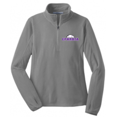 Ladies Microfleece 1/2 Zip