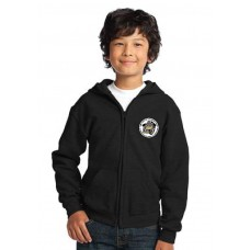 Camp Cadet Gildan Youth Heavy Blend™ Full-Zip Hooded Sweatshirt