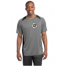 Camp Cadet Sport-Tek® Heather Colorblock Contender Tee