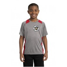 Camp Cadet Sport-Tek® Youth Heather Colorblock Contender Tee