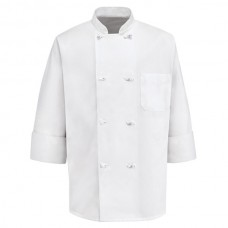Eight Knot Button Chef Coat