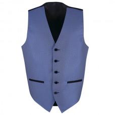 Unisex Brocade Vest