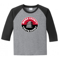 Youth 50/50 3-4 Sleeve Raglan T-Shirt