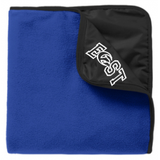 Fleece & Poly Travel Blanket