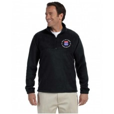 Quarter Zip With Left Chest Embroidery