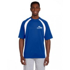 100% polyester Athletic Sport Colorblock T-Shirt