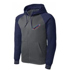 Varsity Fleece Full-Zip Hooded Jacket