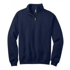 JERZEES® - 1/4-Zip Cadet Collar Sweatshirt With New Holland Aquatic Club Embroidery