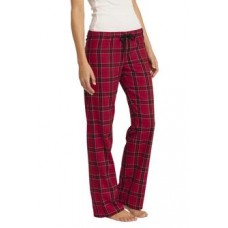District® - Juniors Flannel Plaid Pant With New Holland Aquatic Club Embroidery