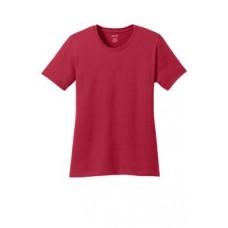 Port & Company® Ladies 5.4-oz 100% Cotton T-Shirt With New Holland Aquatic Club Print