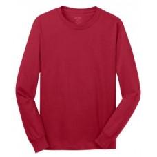 Port & Company® - Long Sleeve 5.4-oz. 100% Cotton T-Shirt With New Holland Aquatic Club Print
