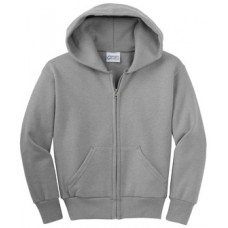 Port & Company® - Youth Full-Zip Hooded Sweatshirt With New Holland Aquatic Club Embroidery