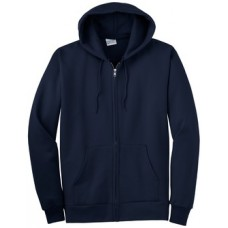 Port & Company® - Ultimate Full-Zip Hooded Sweatshirt With New Holland Aquatic Club Embroidery