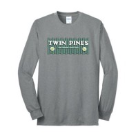 Athletic Heather Long Sleeve Core Blend Tee