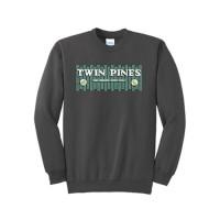 Charcoal Essential Fleece Crewneck Sweatshirt
