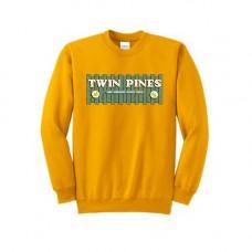 Gold Essential Fleece Crewneck Sweatshirt