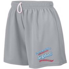 Ladies Wicking Mesh Shorts
