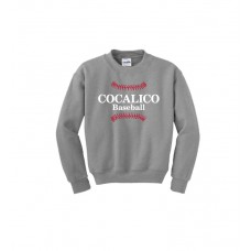 Gildan - Heavy Blend™ Crewneck Sweatshirt With Cocalico Baseball Print