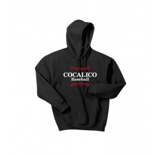 Gildan - Heavy Blend™ Hooded Sweatshirt With Cocalico Baseball Print