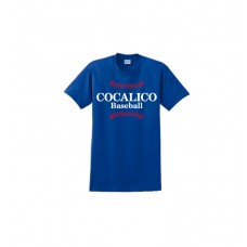 Gildan - Ultra Cotton™ 100% Cotton T-Shirt With Cocalico Baseball Print