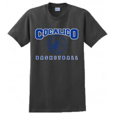 Gildan - Ultra Cotton™ 100% Cotton T-Shirt With Cocalico Basketball Print