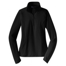 Ladies Sport-Wick 1/2 Zip Pullover With Cocalico Field Hockey Left Chest Embroidery