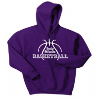 Hooded Sweatshirt - Lady Mounts Basketball