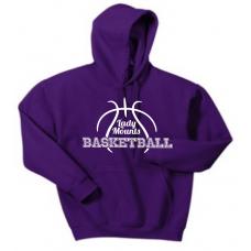 Hooded Sweatshirt - Lady Mounts Basketball