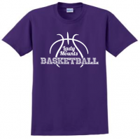 Short Sleeve Tee - Lady Mounts Basketball
