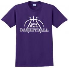Short Sleeve Tee - Lady Mounts Basketball