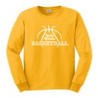 Long Sleeve Tee - Lady Mounts Basketball