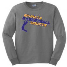 Long Sleeve Tee - Ephrata Mounts Basketball