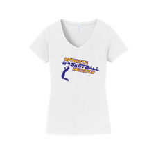 Ladies V-Neck - Ephrata Mounts Basketball