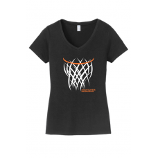Ladies V-Neck - Mountaineers Basketball