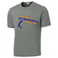 Performance Short Sleeve Tee - Ephrata Mounts Basketball