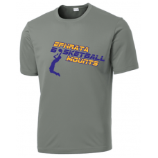 Performance Short Sleeve Tee - Ephrata Mounts Basketball