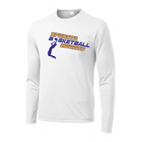 Performance Long Sleeve Tee - Ephrata Mounts Basketball