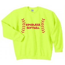 Safety Green Crewneck Sweatshirt