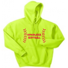 Safety Green Hooded Sweatshirt