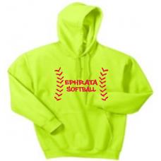 Safety Green Hooded Sweatshirt