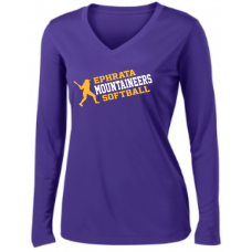 Ladies Long Sleeve PosiCharge Competitor Tee