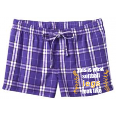 District -Juniors Flannel Plaid Boxer