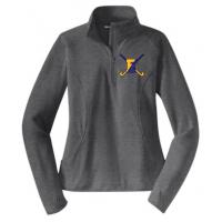Ladies Stretch 1/2-Zip Pullover